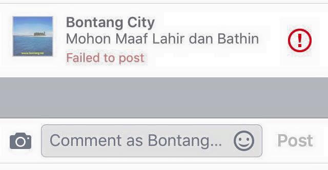 Mohon Maaf Lahir dan Bathin