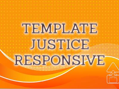 Template Terbaru 2017 Justice Seo Responsive Download Gratis
