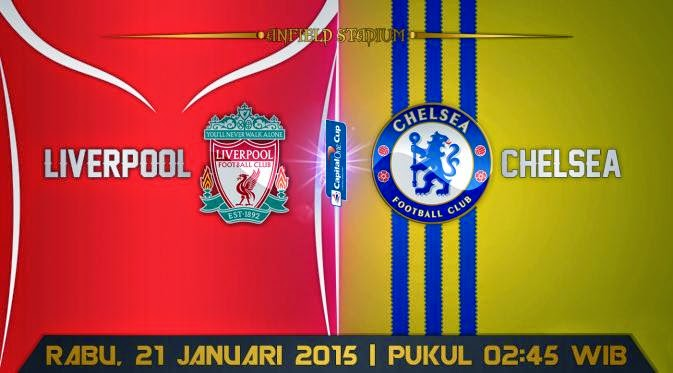 Kekuatan Super Untuk Final Capital One : Liverpool vs Chelsea