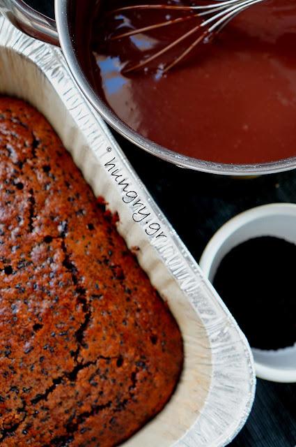 Μυρμηγκάτο – Σιροπιαστό Κέικ με Τρούφα Σοκολάτας