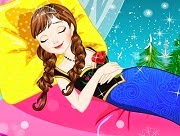 Frozen Princess Anna Sleeping