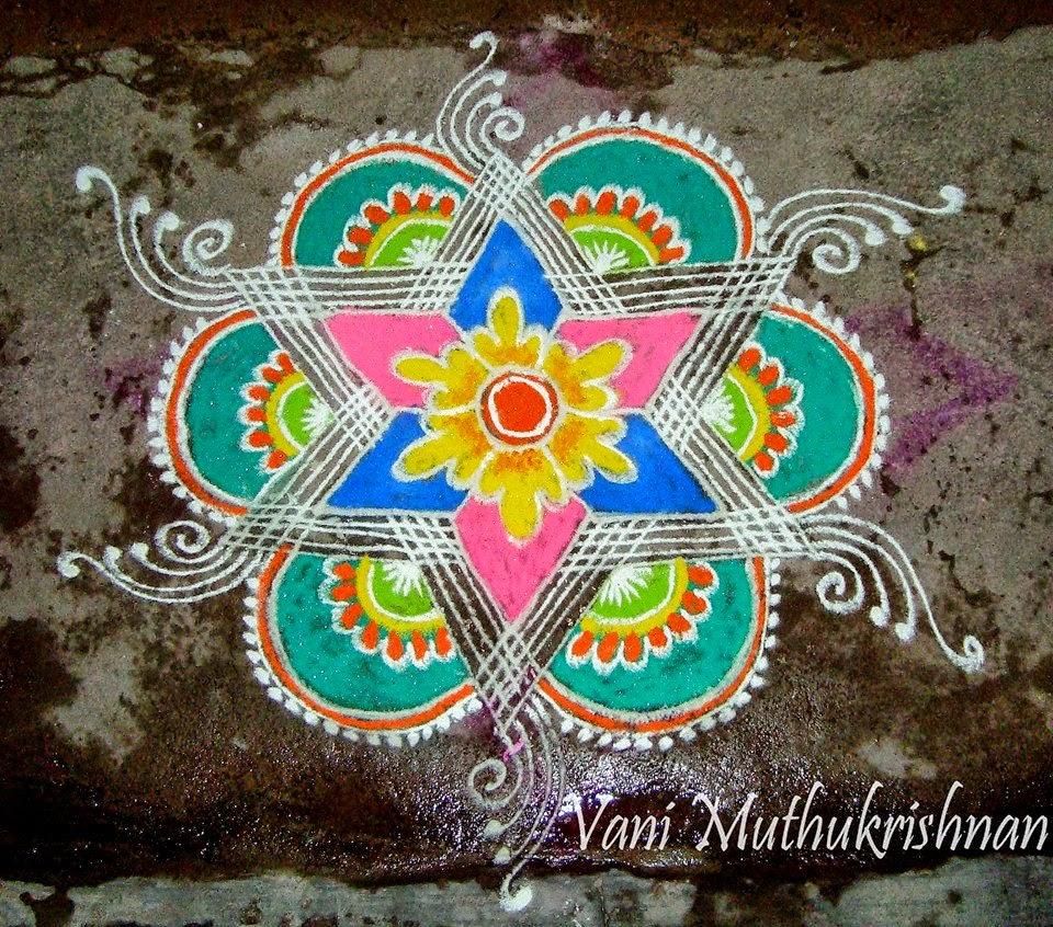Kolam Designs 44