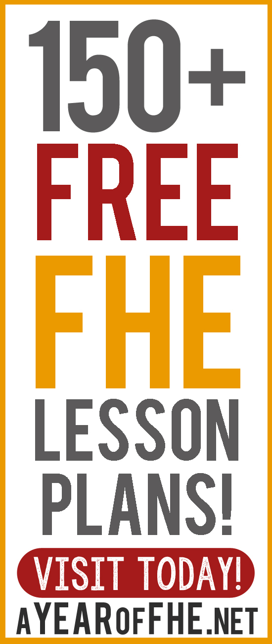a year of fhe yearly lesson plans