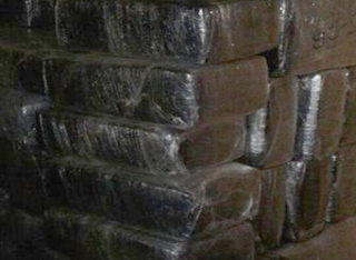 Aseguran dos toneladas de droga en Nuevo Laredo Tamaulipas
