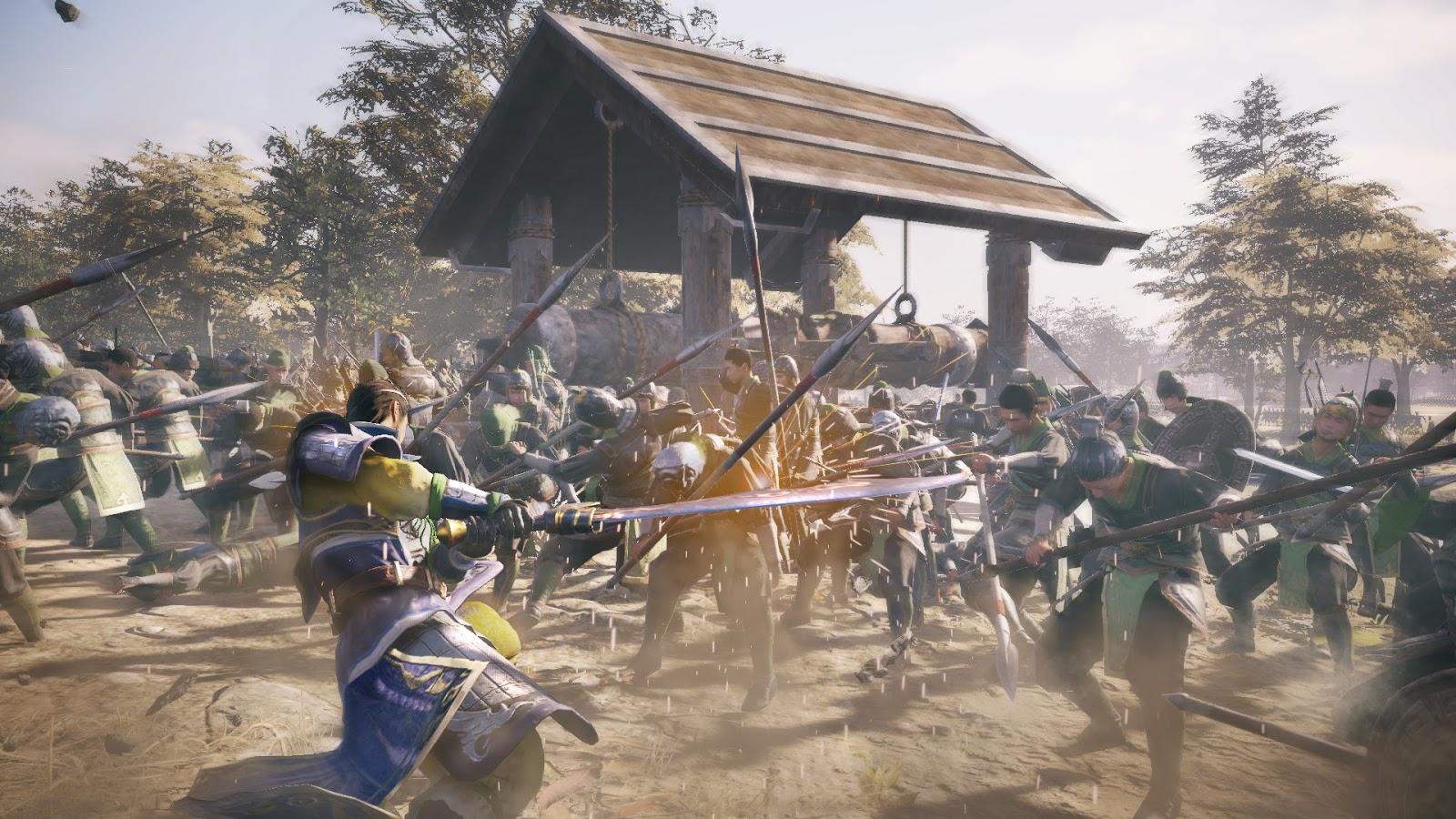 Dinasty Warriors 9 confirma plataformas y desvela personajes novedosos 9