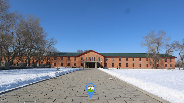 Former site of Japanese Unit 731 Headquarter is located behind the museum at Harbin in Heilongjiang province of China