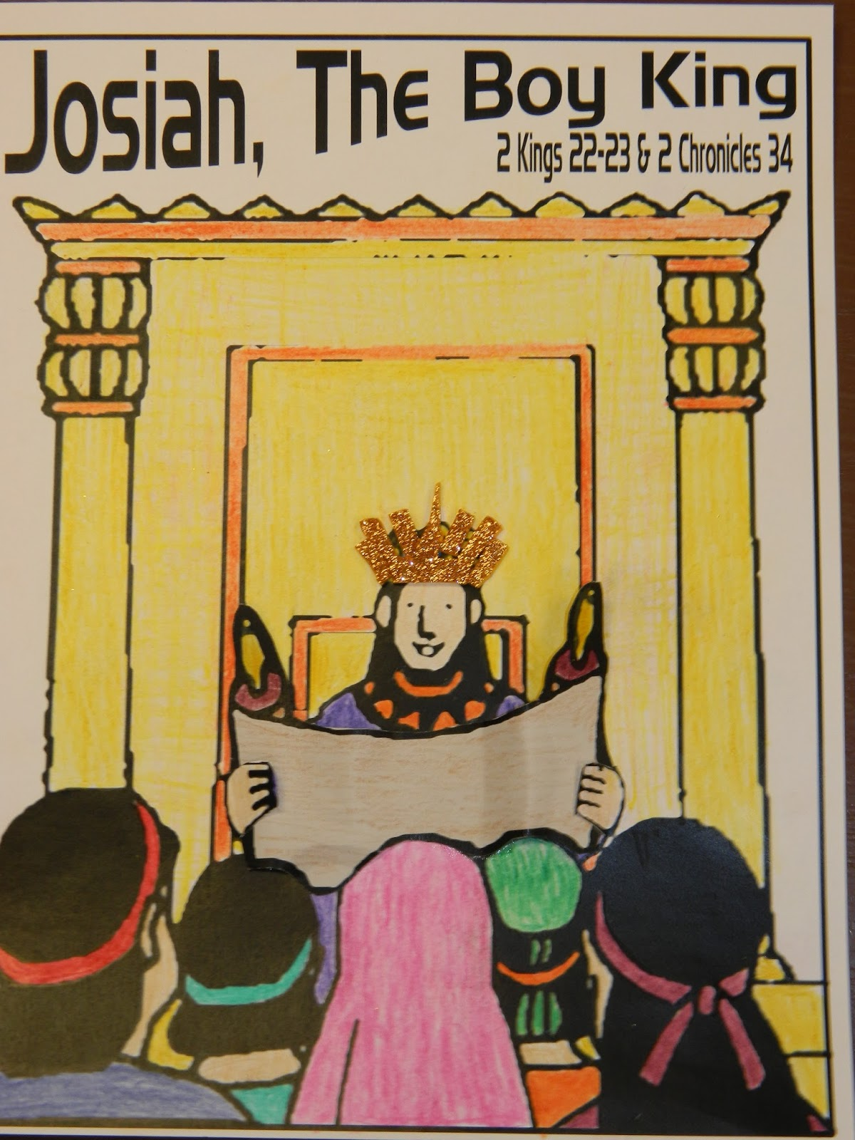 Hands On Bible Teacher King Josiah The Law Found In The