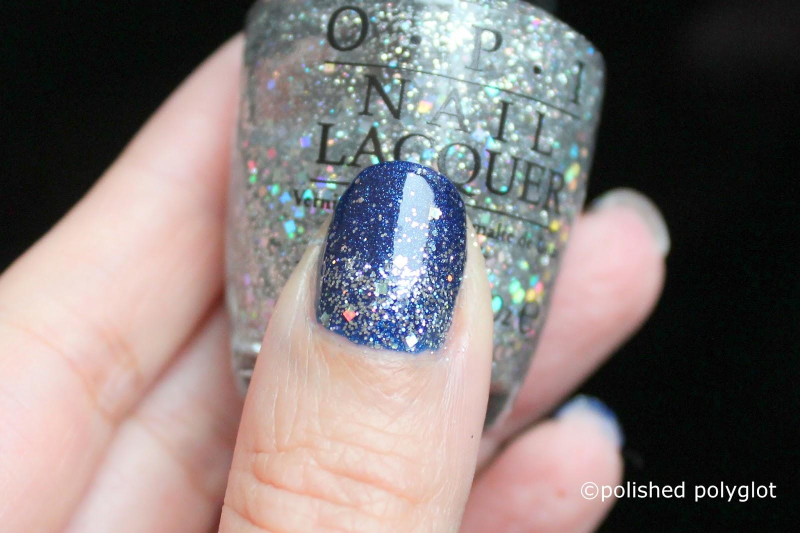 Nail art │Blue, Silver and White Winter nail design [Nail Crazies ...
