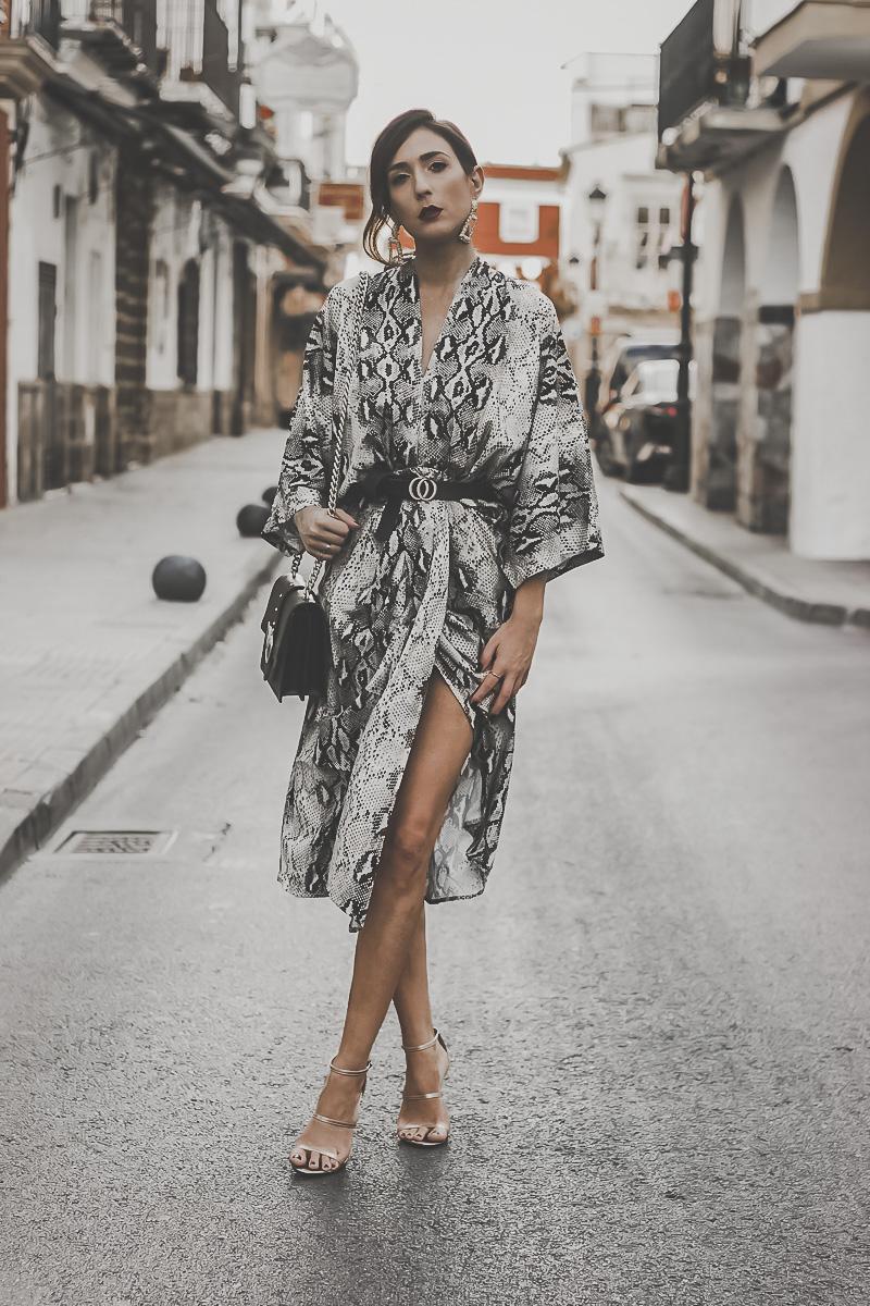 how to wear animal print dress
