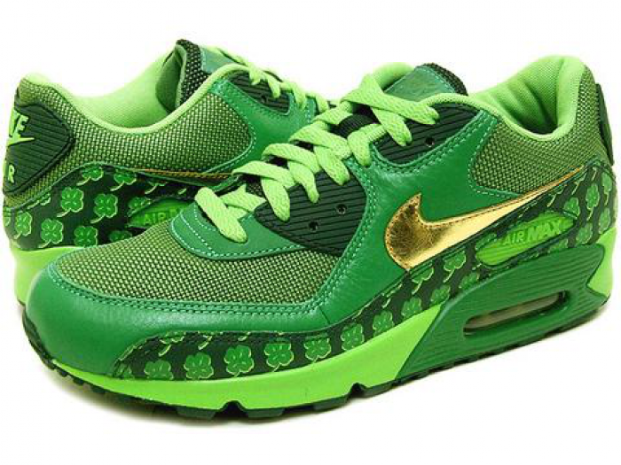info for 934d4 9792e Nike has created a limited edition shoe for St. Patricks Day.