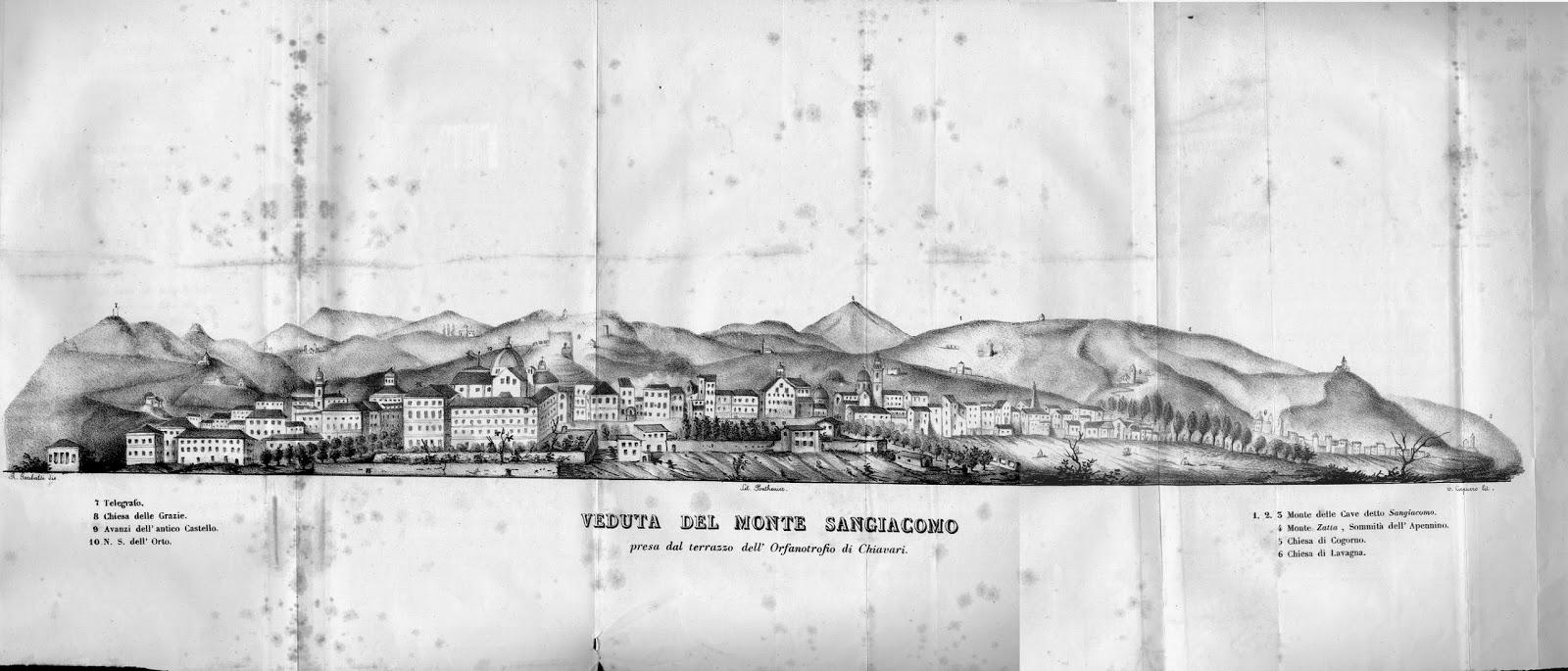 La Pietra Della Lavagna geoitaliani: 1838: un viaggio geologico con nicolò della