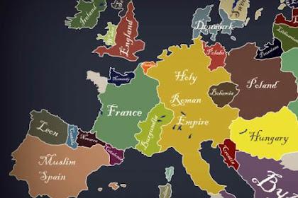 Fakta menarik tentang negara-negara Eropa