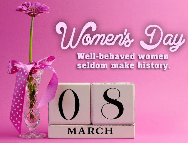 Happy International Women's Day 8th March Images