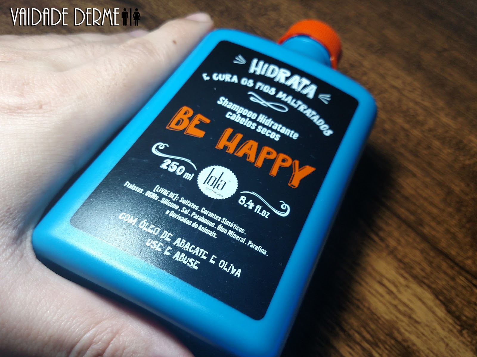 Shampoo Hidratante Be Happy Lola Cosmetics