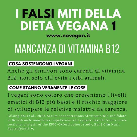 Le bufale della dieta vegana