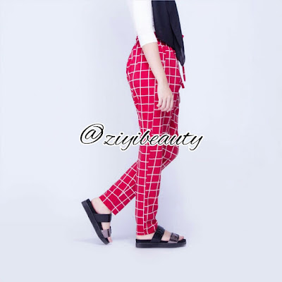 Borong Grid Pants, borong grid Pants murah, stokis Grid Pants,