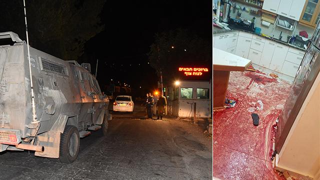 Pontosítás: Terrorista ölt Chalamis településen • Három halott áldozat egy családból • Folytatódnak a zavargások az Óvárosban és Kelet-Jeruzsálemben