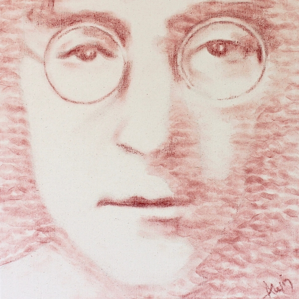08-John-Lennon-Alexis-Fraser-Portraits-Painted-with-Lipstick-and-Kisses-www-designstack-co