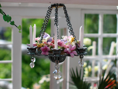 dollhouse chandelier
