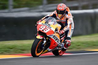 Sering Jatuh di MotoGP 2017, Marquez Dapat Sasis Baru