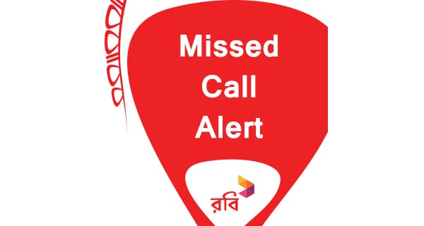 Robi missed call alert