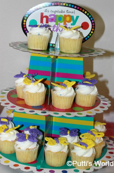Butterfly Themed Food kids party cup cakes