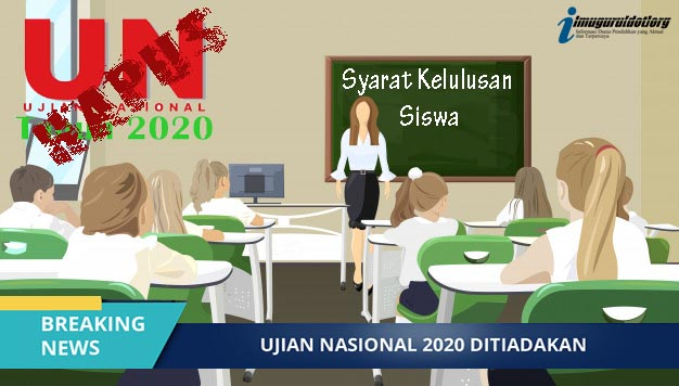 Ujian Nasional (UN) 2020 di Hapus