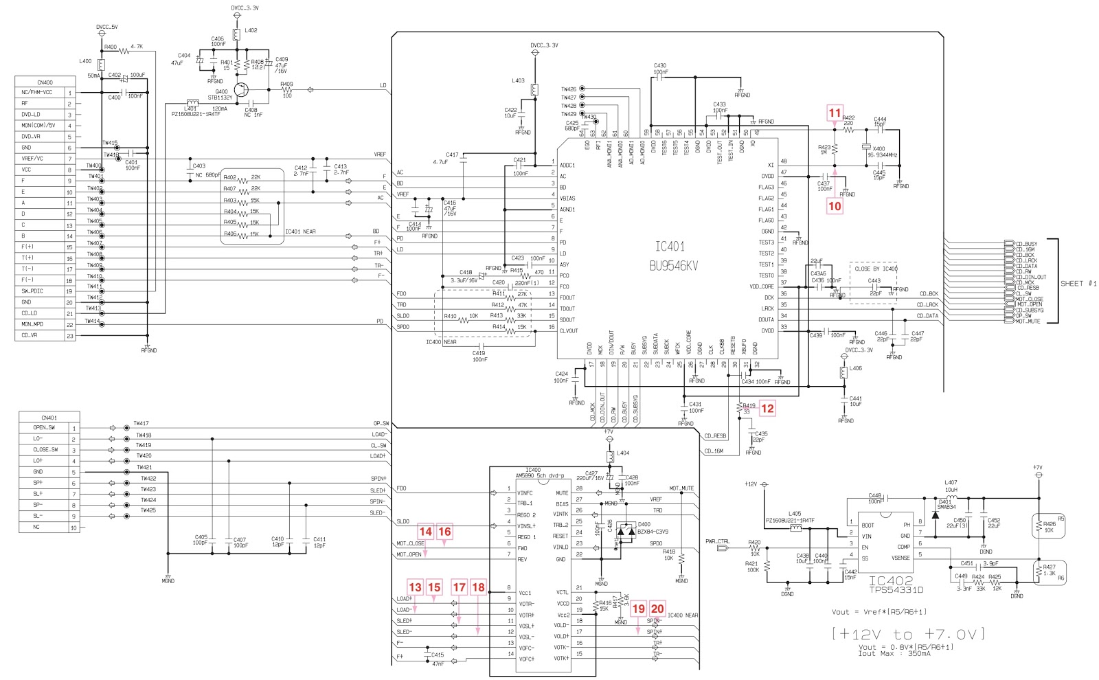 lg cm8450 troubleshooting and circuit diagram mini hi