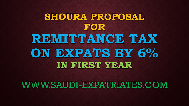 SHOURA PROPOSAL OF TAX ON YOUR REMIT