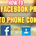 Android Sync Contacts with Facebook Pictures