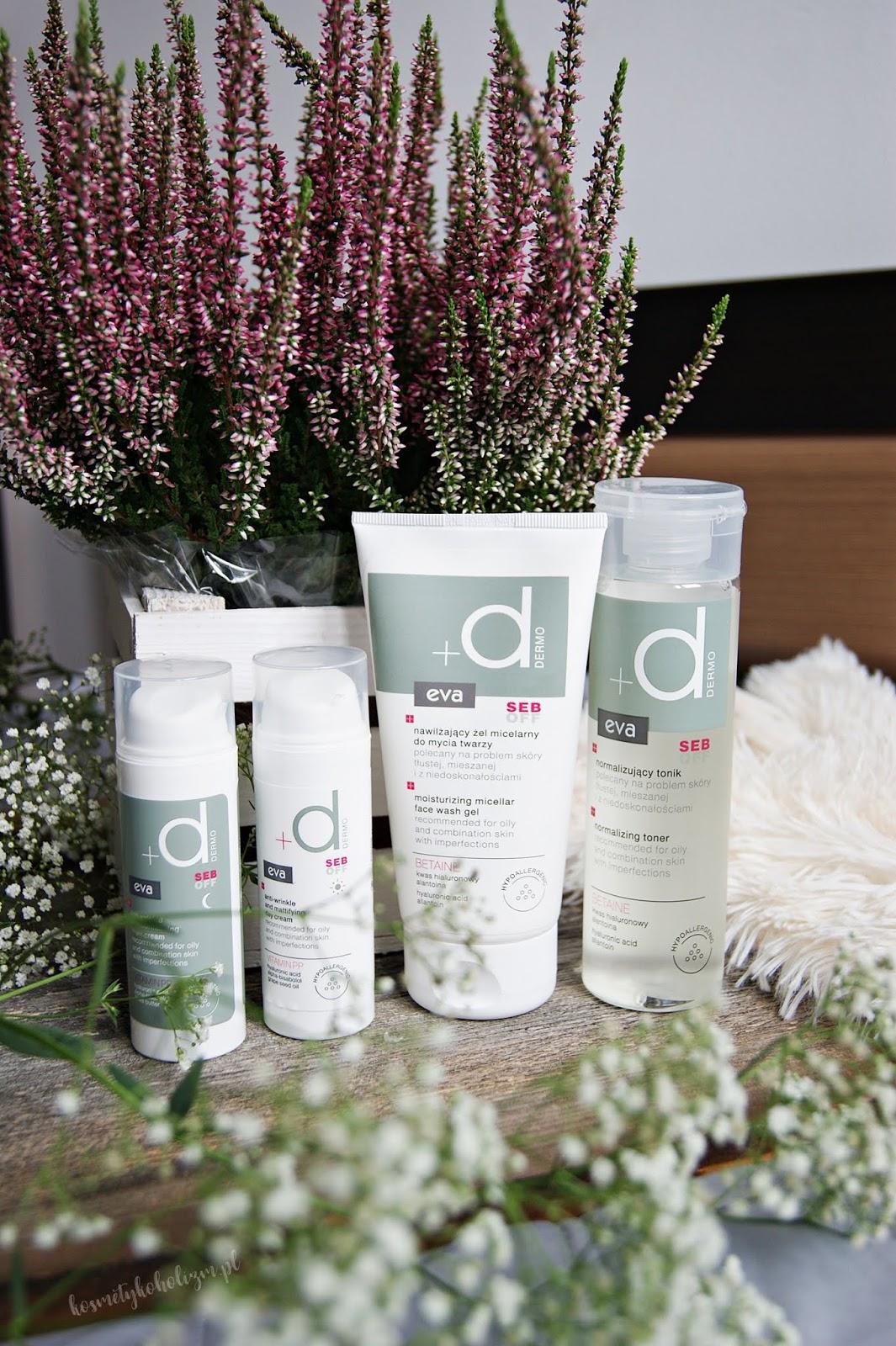 Eva DERMO SEB OFF | Przeciwzmarszczkowa pielęgnacja skóry mieszanej