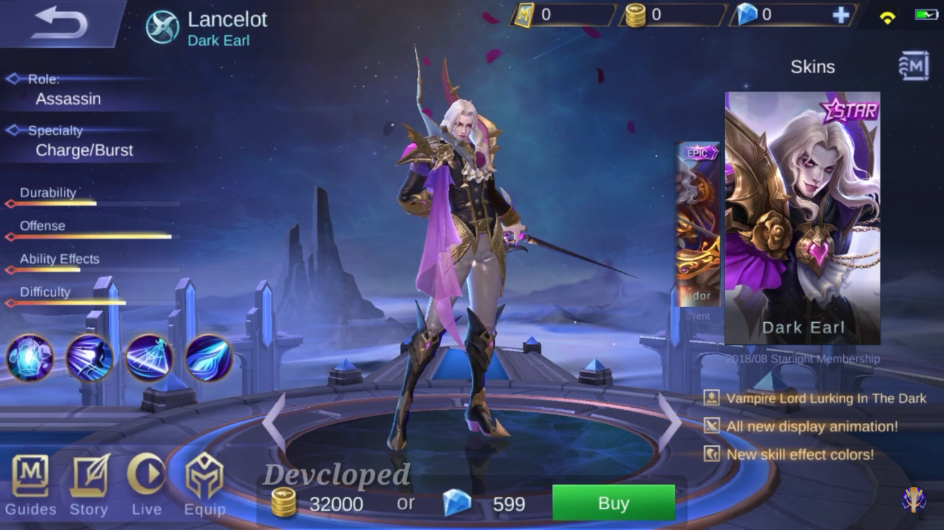 Image result for skin starlight lancelot