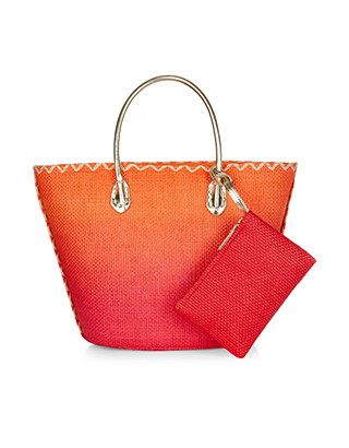 Accessorize Straw Basket Bag