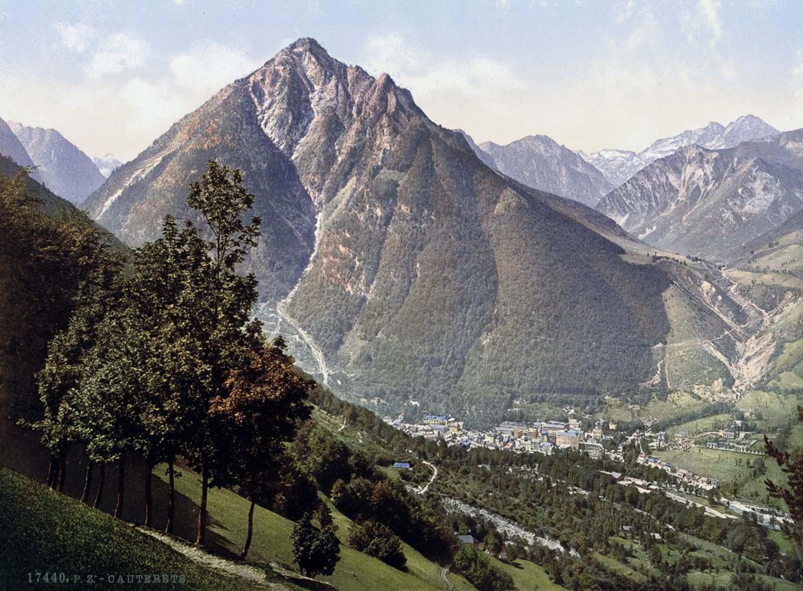 Cauterets, Pyrenees.
