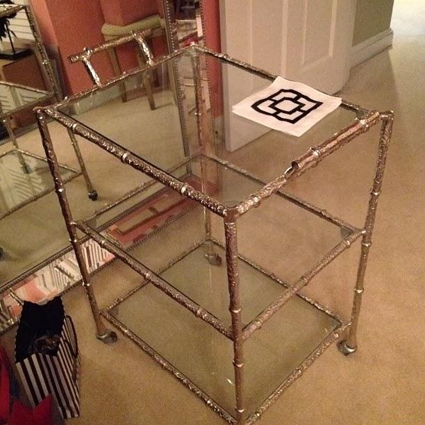 My New Homegoods Bar Cart