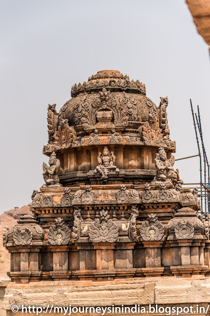 Hampi Krishna Temple Tower