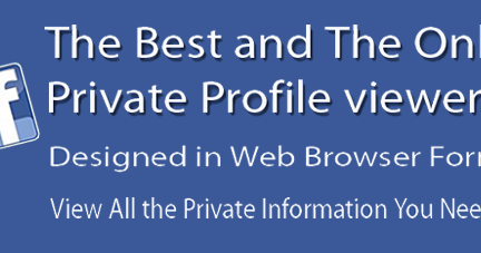 Facebook Private Profile Viewer Linux