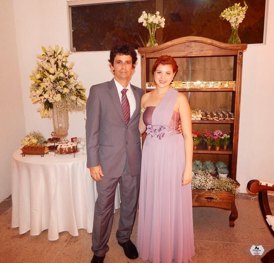 vestido de madrinha lilás