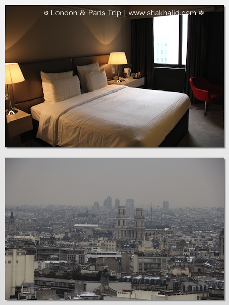 premium beautiful Pullman Paris room view