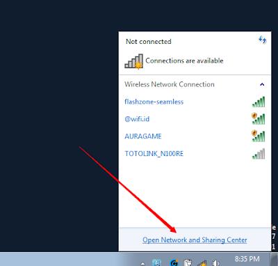 Cara Menyambungkan Laptop Ke Flashzone-seamless