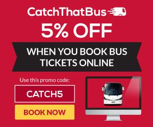 Beli Tiket Bas Dengan CatchThatBus