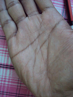 Very Poor Life Line On Hand Palmistry