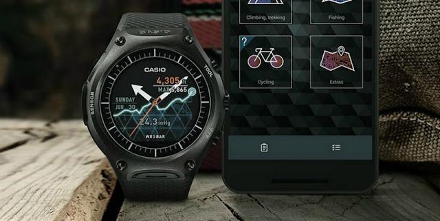 Casio New smartwatch WSD-F10 Smartwatch outdoor
