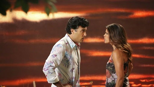 Jaime Camil y Andrea Navedo en Jane the Virgin