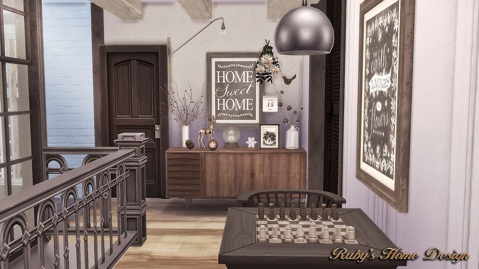 Sims4 deli amp grocery store ruby s home design - Sims4 Neutral Chic House No Download Link Sims4 Neutral Chic House No Download Link Ruby