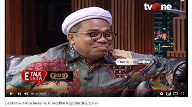 Ini Jawaban Ngabalin saat Ditanya soal Keinginan Bergabung jika Prabowo Menang Pilpres