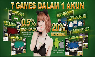Dapatkan Bonus Cashback Agen Judi Domino Online QBandars.net - www.Sakong2018.com