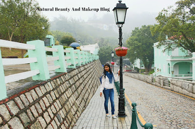 Destination - MACAU, Day 2, Taipa Village, Our Lady Of Carmel Church,Taipa on Natural Beauty And Makeup Blog