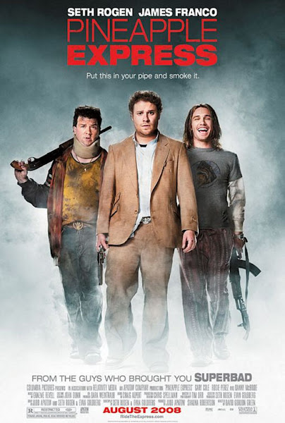 Poster of Pineapple Express 2008 UnRated 720p Hindi BRRip Dual Audio Download