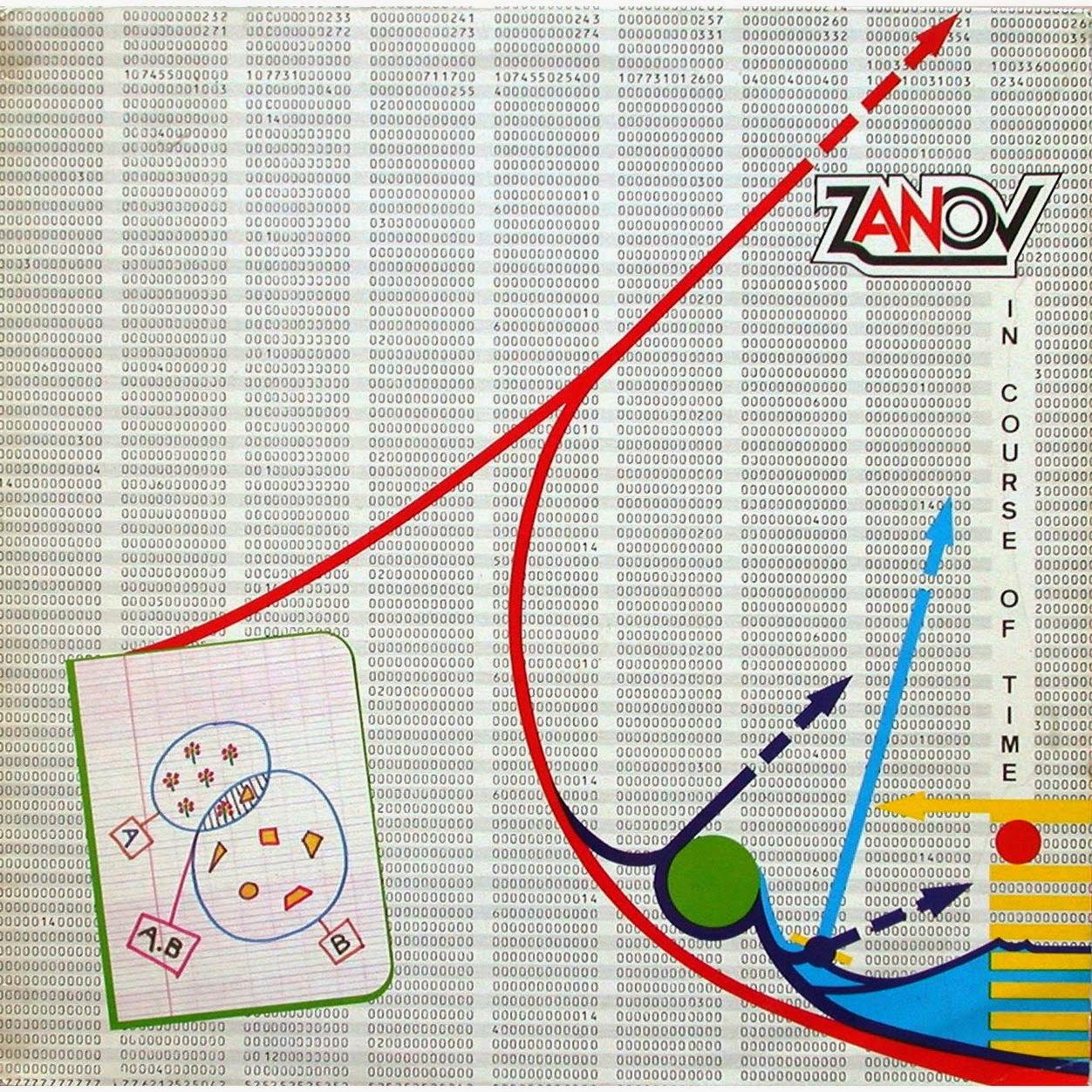 Pierre Salkazanov diseñaría la portada de su tercer álbum, In Course Of Time, grabado en 1978, pero publicado en Canadá en 1982 por el sello Les Disques Solaris y en Francia en 1983 por el sello Ondes